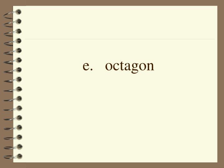 e.octagon