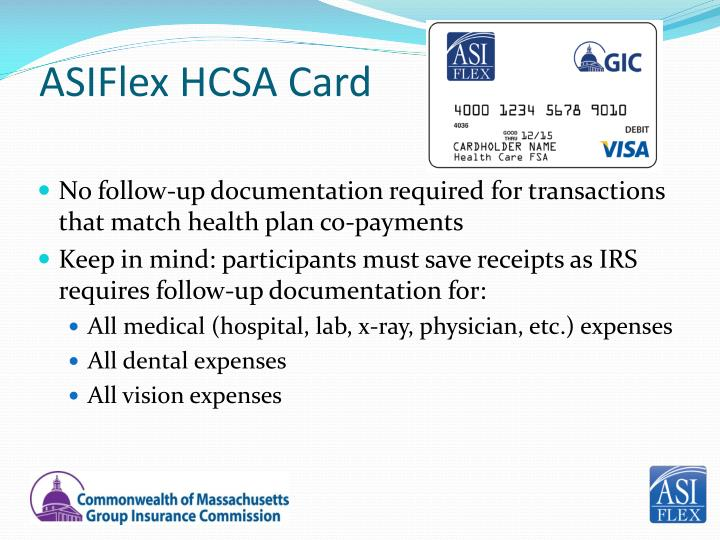 ASIFlex HCSA Card