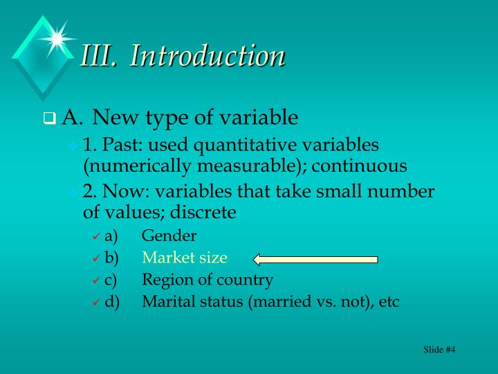 III.Introduction
