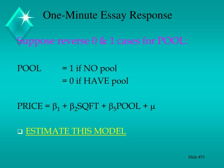 Suppose reverse 0 & 1 cases for POOL: