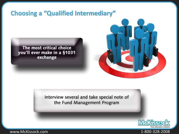 "Choosing a ""Qualified Intermediary"""