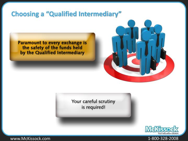 "Choosing a ""Qualified Intermediary"""