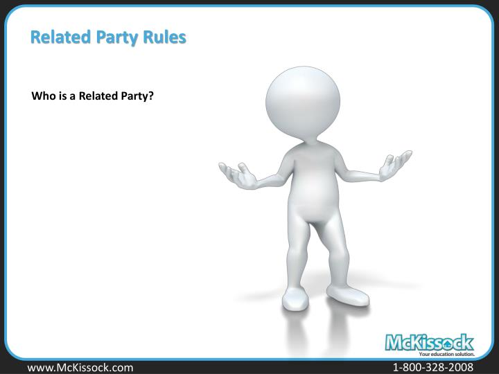 Related Party Rules