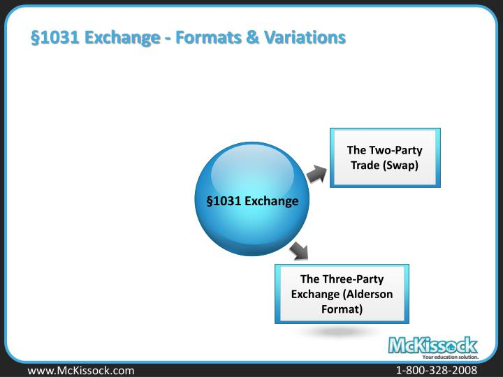 §1031 Exchange