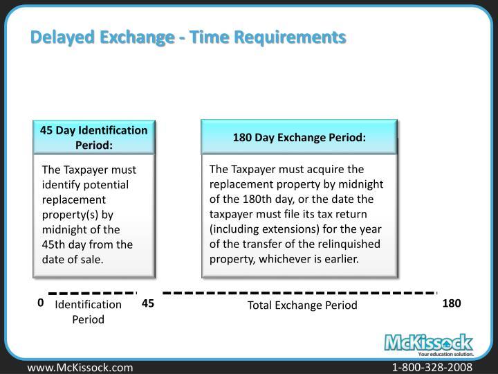 Delayed Exchange