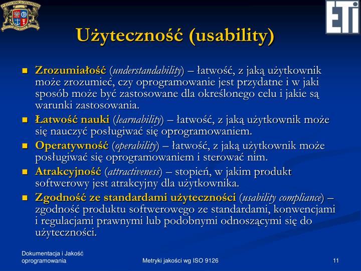 Użyteczność (usability)