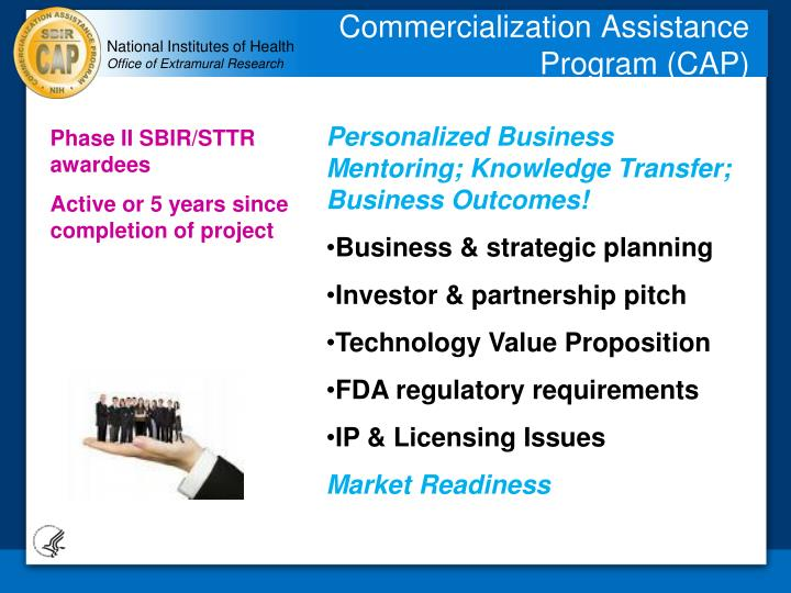 Commercialization Assistance