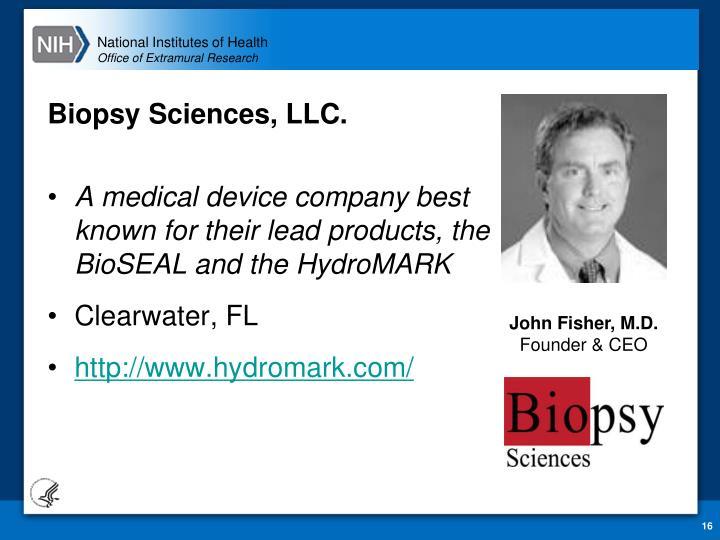 Biopsy Sciences, LLC.