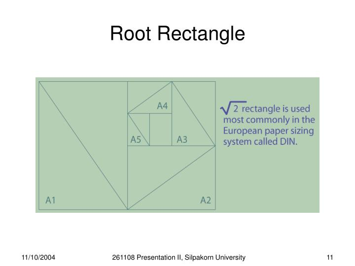 Root Rectangle