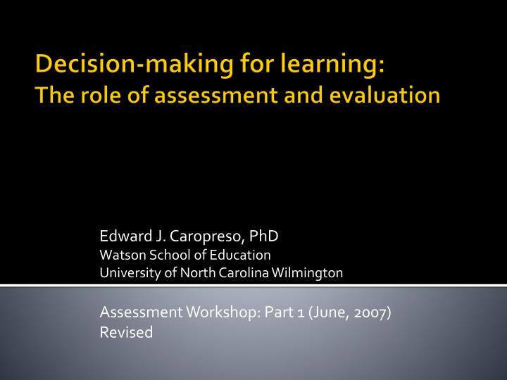 Edward J. Caropreso, PhD