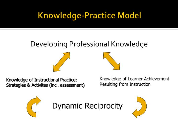 Knowledge-Practice Model