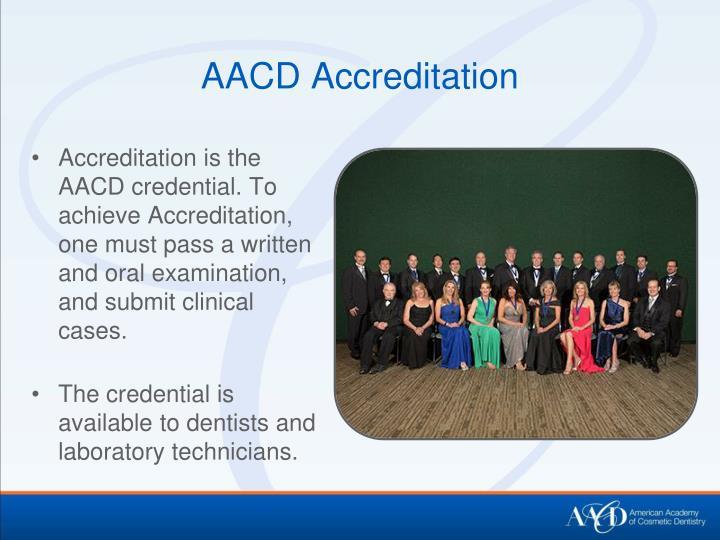 AACD Accreditation
