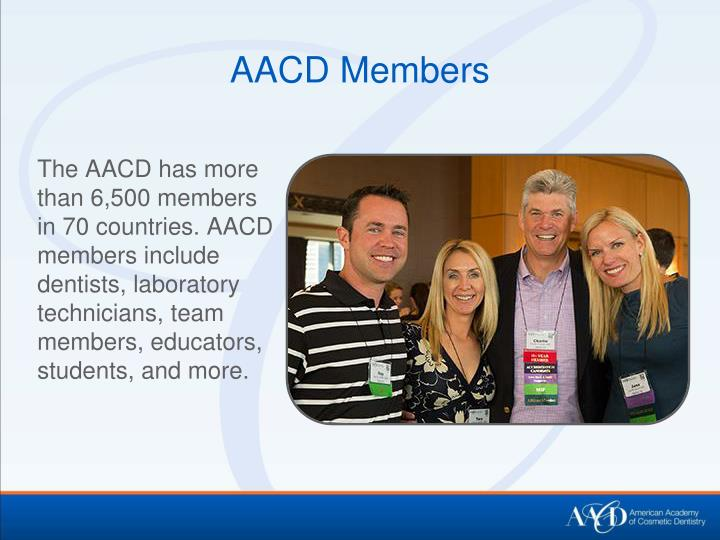 AACD Members