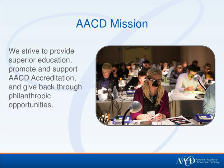 AACD Mission
