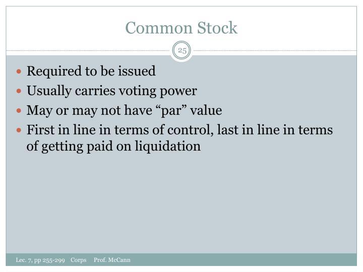 Common Stock