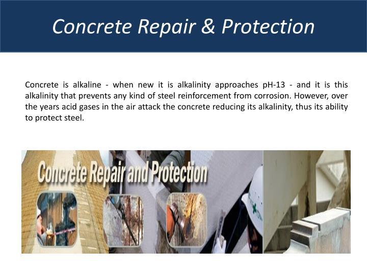 Concrete Repair &