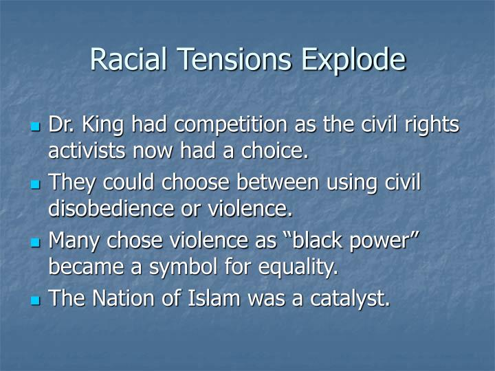 Racial Tensions Explode