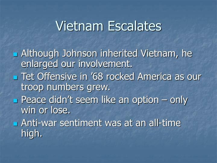 Vietnam Escalates