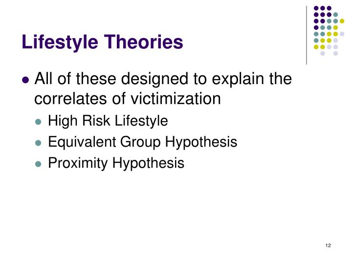 Lifestyle Theories