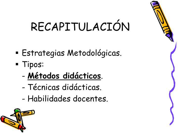 RECAPITULACIÓN