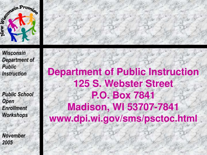 Department of Public Instruction