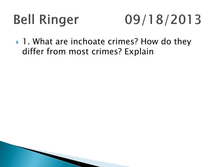 Bell Ringer09/18/2013