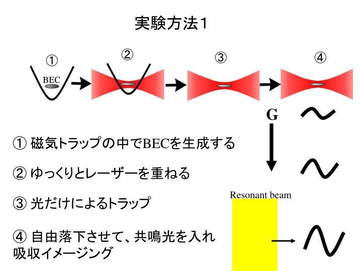 実験方法1