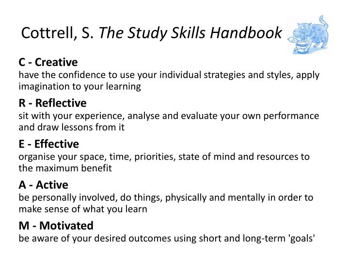 cottrell study skills handbook pdf