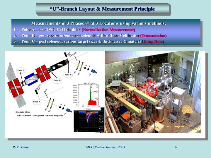 """U""-Branch Layout & Measurement Principle"