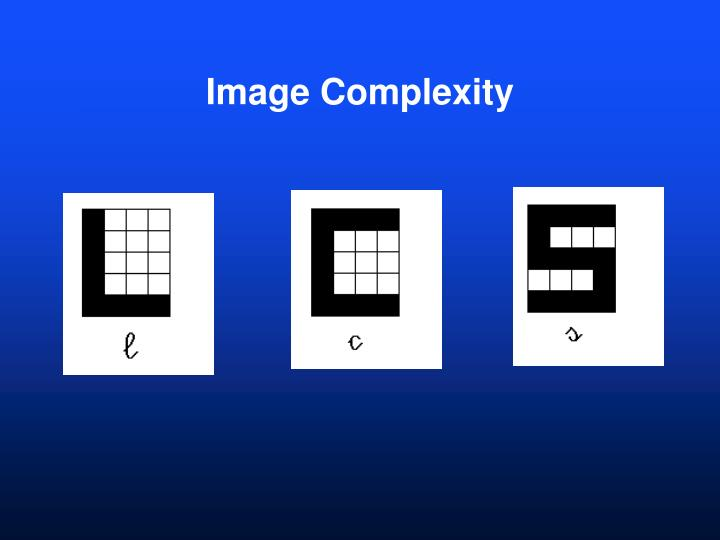 Image Complexity