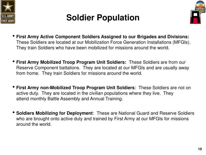 Soldier Population