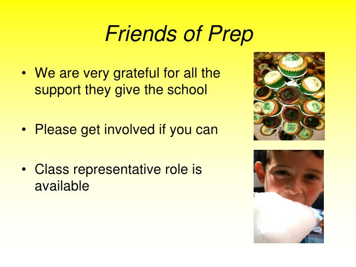 Friends of Prep