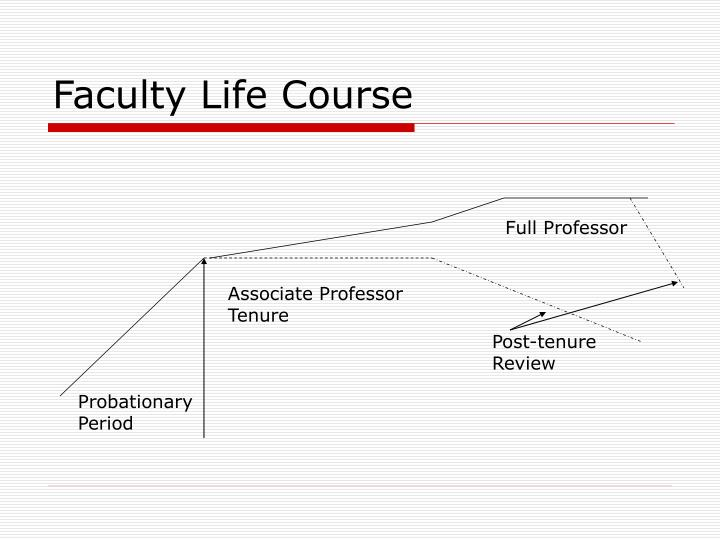 Faculty Life Course