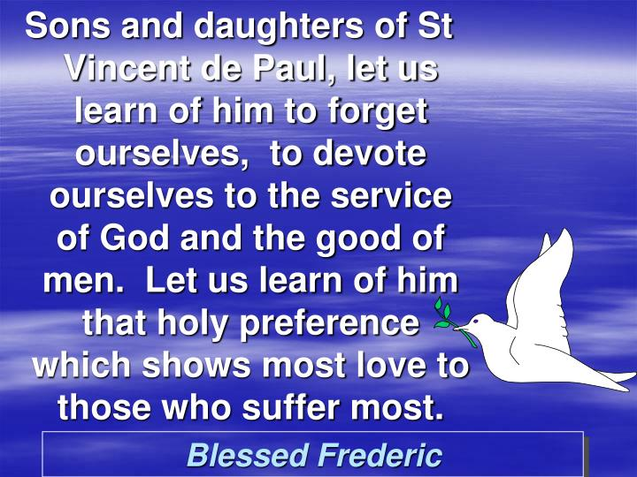 Blessed Frederic