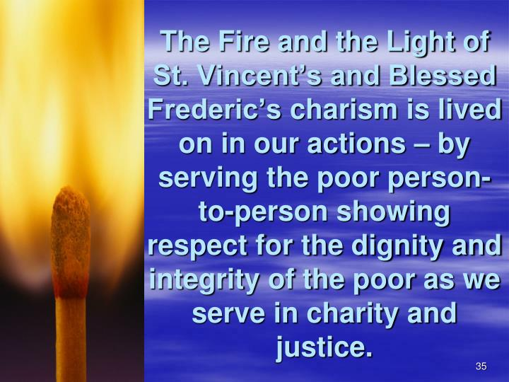 The Fire and the Light of St. Vincent's and Blessed Frederic's