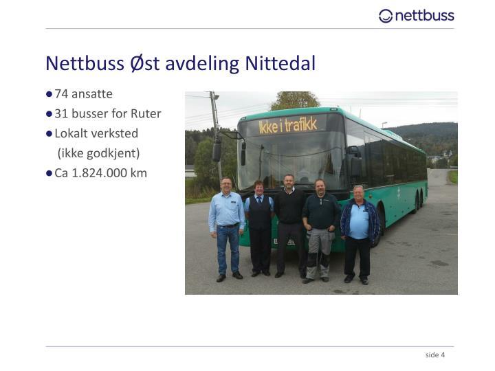 Nettbuss Øst avdeling Nittedal