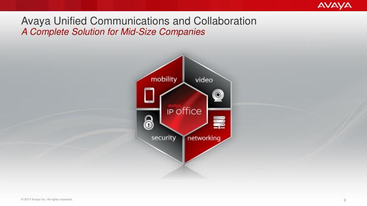 Avaya unified communications and collaboration a complete solution for mid size companies
