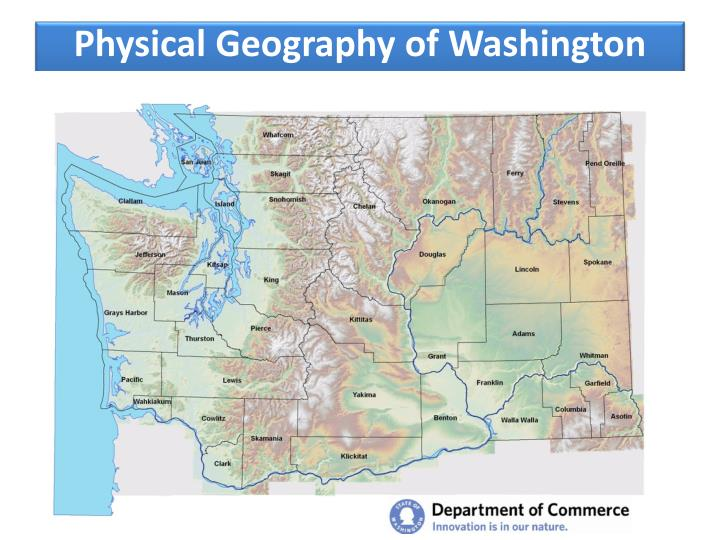 Physical geography of washington state