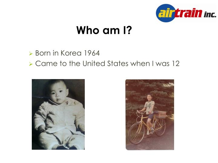Born in Korea 1964