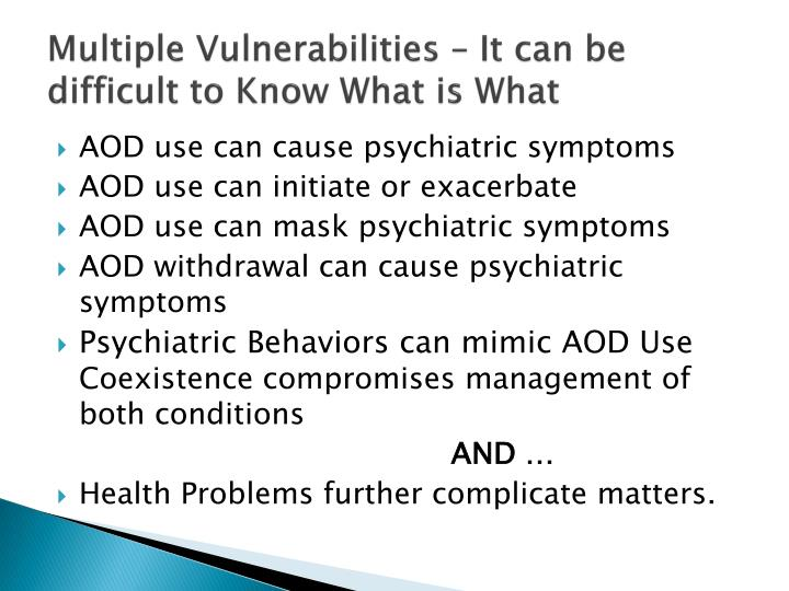 Multiple Vulnerabilities – It can be difficult to Know What is What