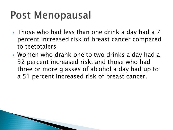 Post Menopausal
