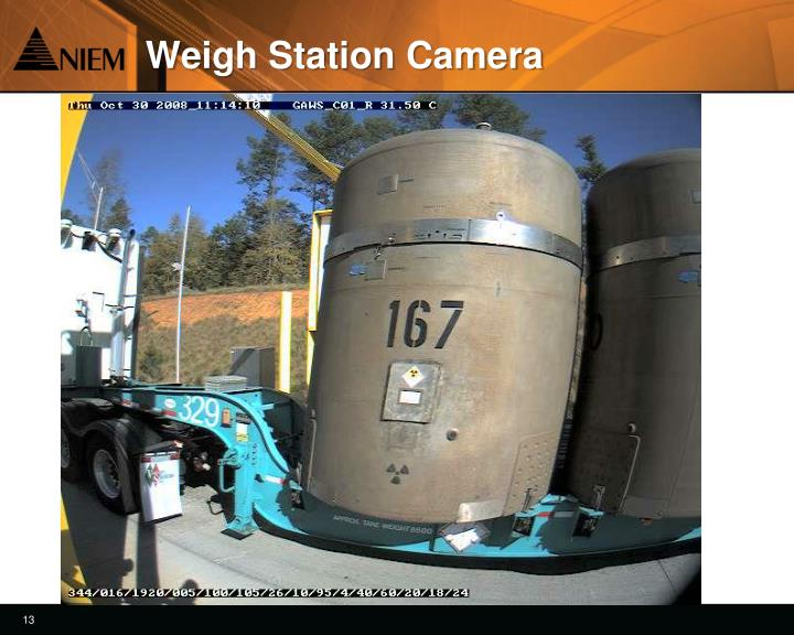 Weigh Station Camera