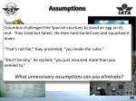 assumptions1
