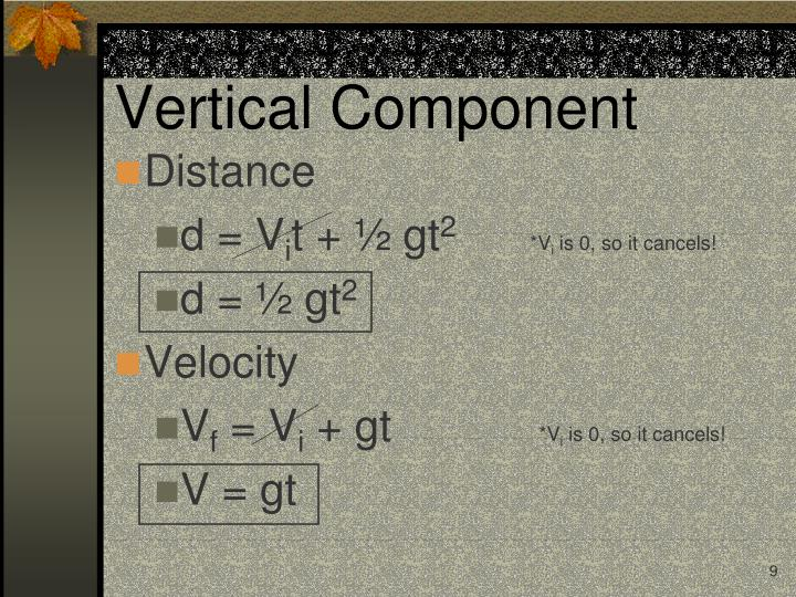 Vertical Component