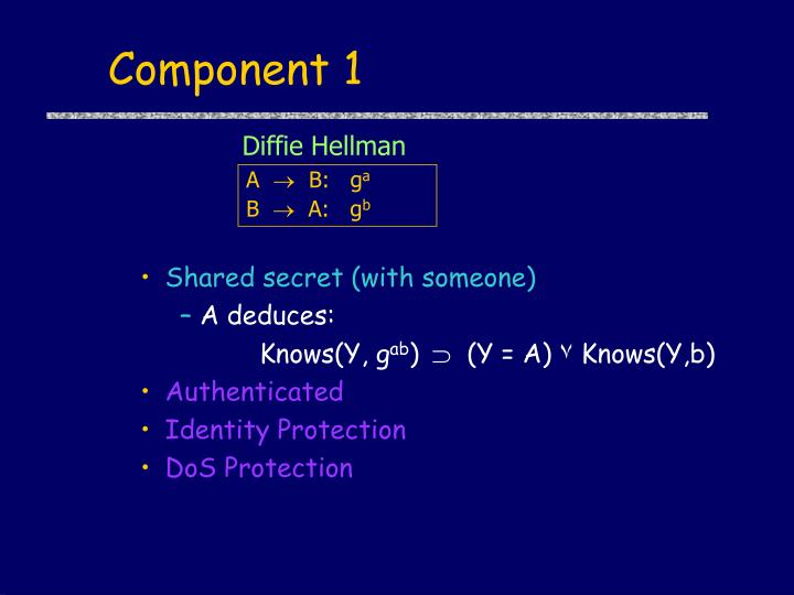 Component 1