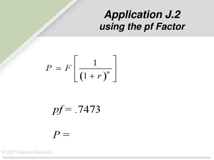 Application J.2