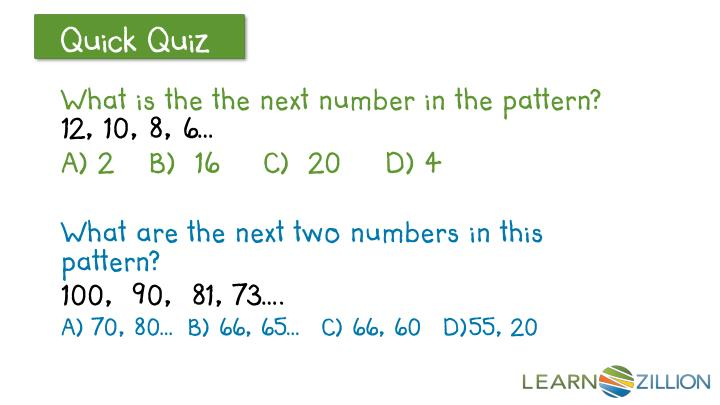 What is the the next number in the pattern?