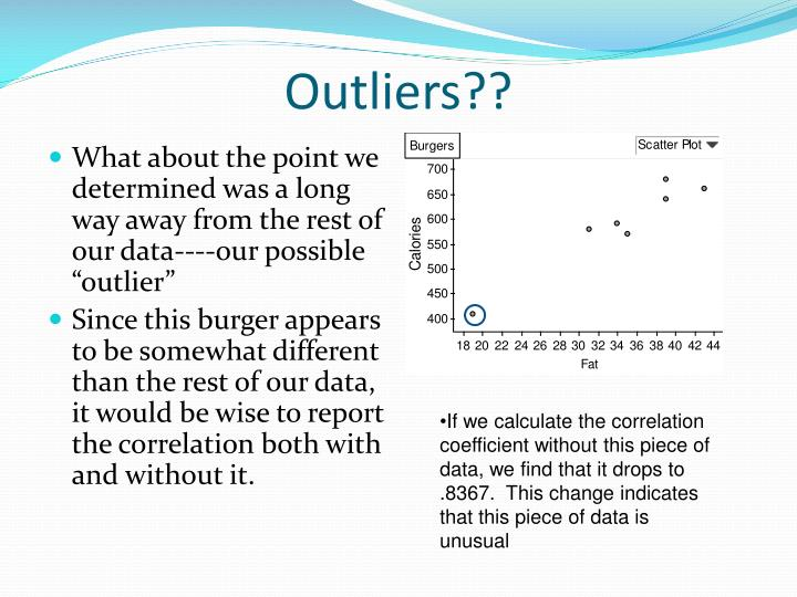 Outliers??