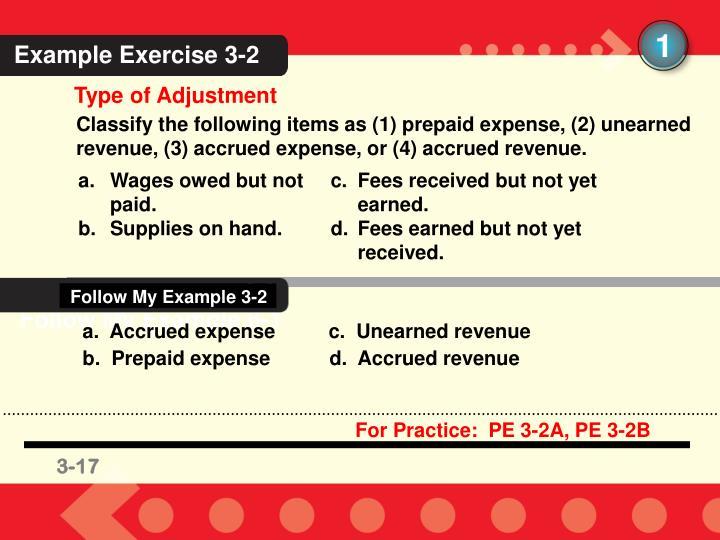 Follow My Example 3-2
