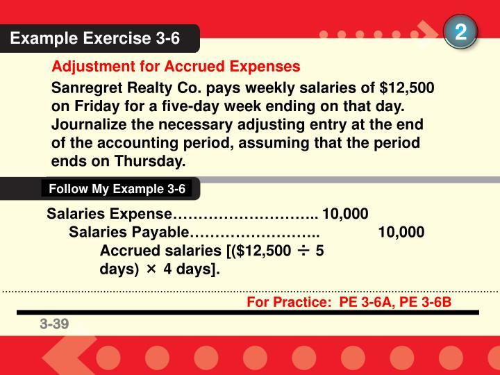 Follow My Example 3-6